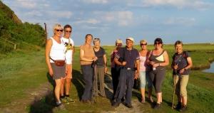 The gang on the saltflats