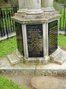 Cilfynydd War Memorial base