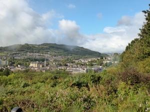 Overlooking Pontypridd