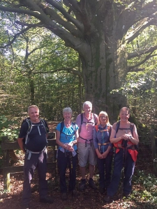 The Gang on the way back at Wenvoe Wood