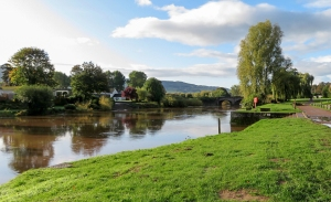 Joining banks of the River Wye