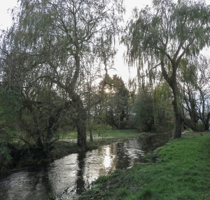 The swollen River Thaw
