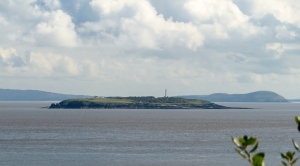 Flat Holm from the Lavernock Nature Reserve