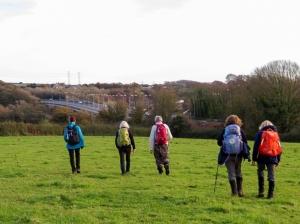 Returning through the Penllyn Estate