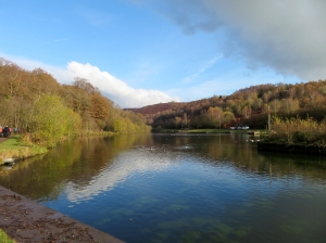 Lake at Parc Cwm Bargoed