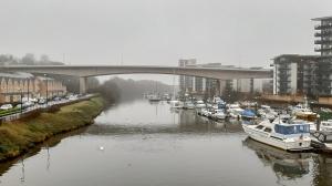 Ely River at Pont y Werin