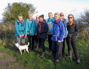 The Gang minus Jeff and Clive at Lavernock