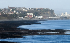 St Augustine's and Penarth seafront
