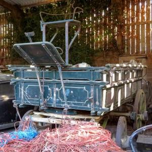 An old cart at Beggan