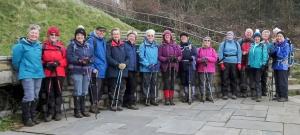 Short walk group at Fontygary
